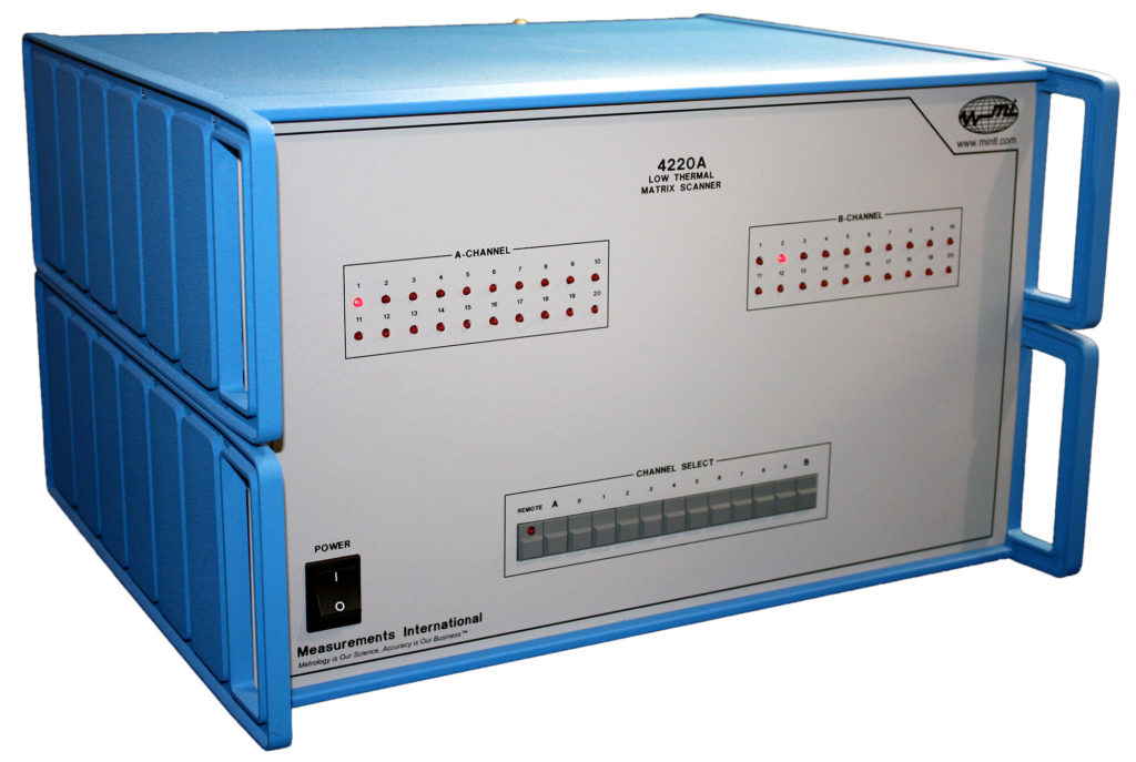 4220A Automated 4 Terminal Matrix Scanner - 20 Channel