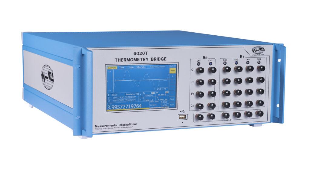 6020T Primary Thermometry Bridge, Basic