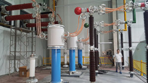 ALMS used in transformer test facility