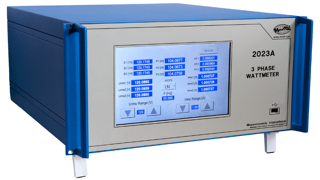 Model 2023A-XP 3-Phase Power Analyzer