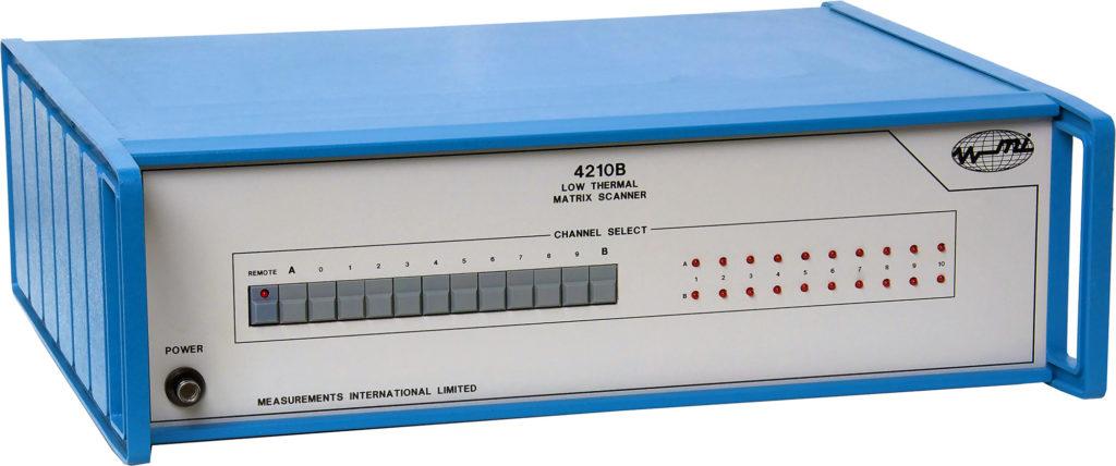 4210B Low Thermal Matrix Scanner
