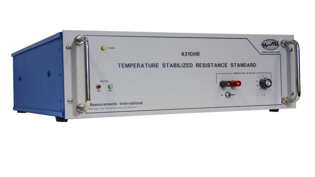4310HR Temperature Stabilized Resistance Standard
