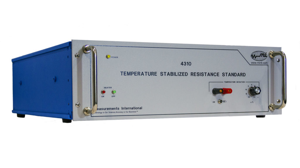 4310 Temperature Stabilized Resistance Standard