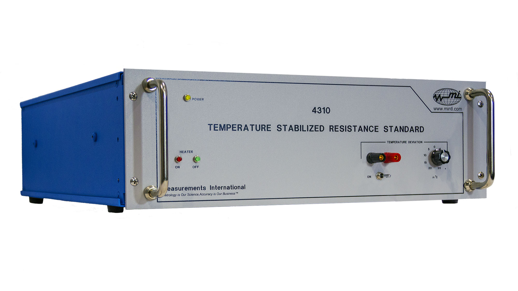 4310 Temperature Stabilized Resistance Standard