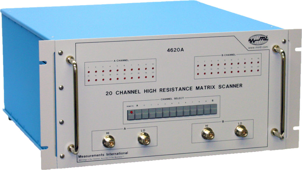 4620A 20 Channel High Resistance Matrix Scanner