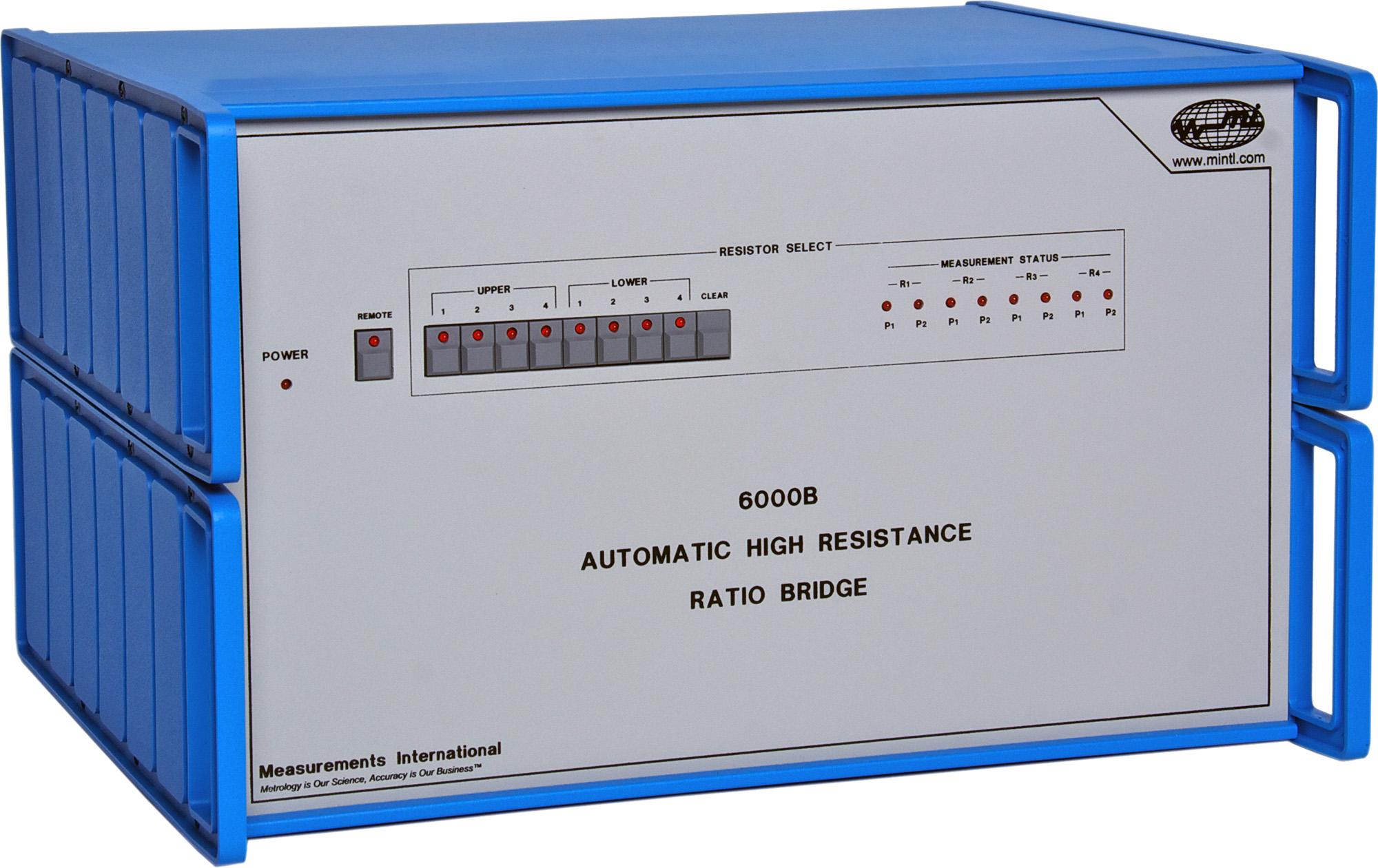 6000B AccuBridge Automatic High Resistance Ratio Bridge