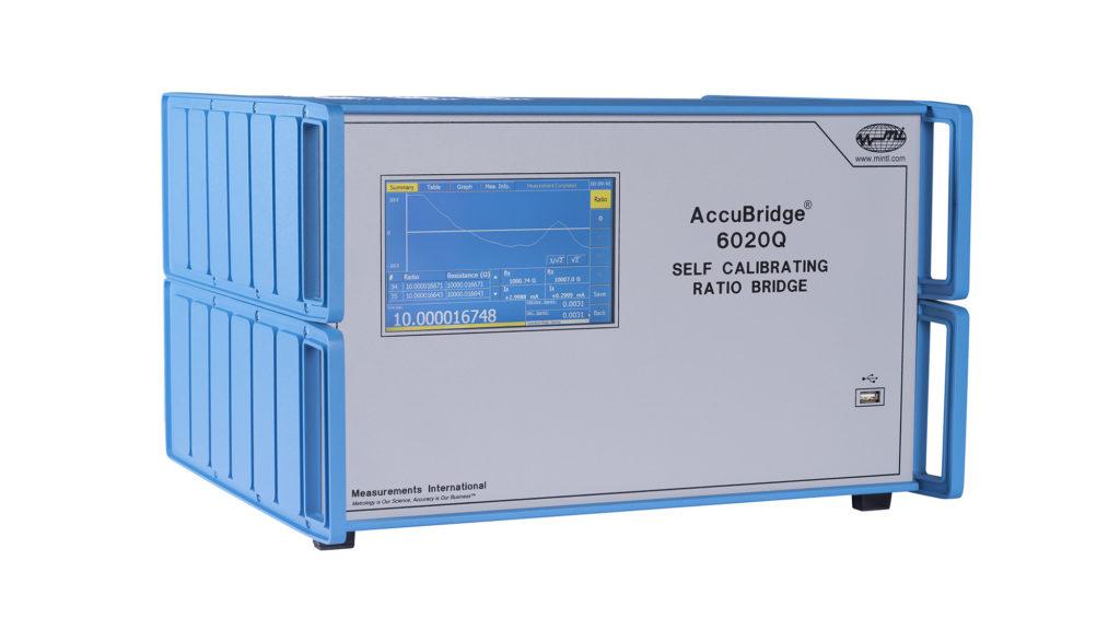6020Q - Self Calibrating Ratio Bridge