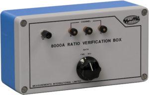 8000B Radio Verification Box