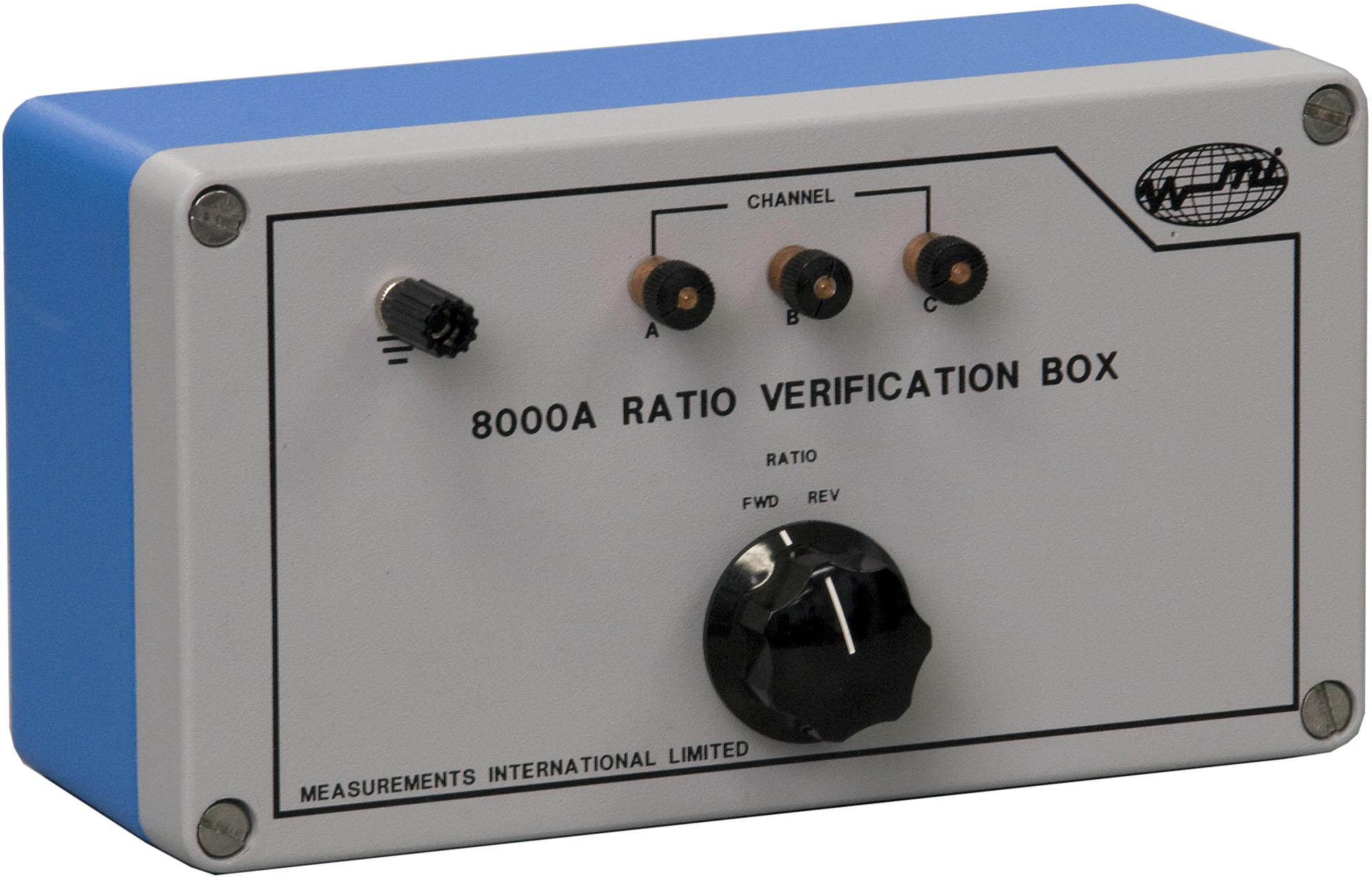 8000A Radio Verification Box