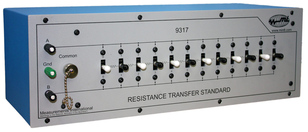 9317 Resistance Transfer Standard