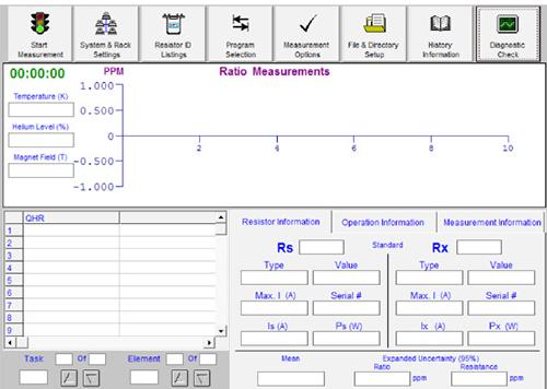 Main Manual Screen